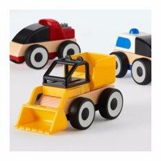ขาย Lillabo รถของเล่นไม้บีช คละสี ปริมาณบรรจุ 3 ชิ้น