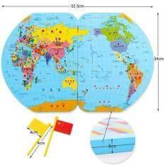 Little Pumpkin เกมแผนที่โลก Map Of The World พร้อมธง 36 ประเทศ.