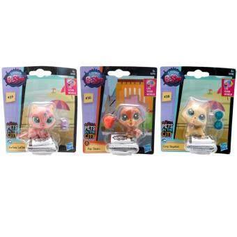 ของเล่น ตุ๊กตา แพท ช็อป Littlest Pet Shop (LPS KEYBOARD CORGI LPS Pup Tacaro LPS FORTUNE TELLING) 3 ชิ้น พิเศษ 259 บาท