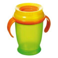 ซื้อ Lovi แก้วหัดดื่ม 360 องศา รุ่น Junior 250Ml 12M สีเขียว Lovi ออนไลน์