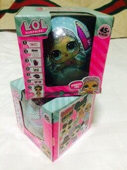 LQL ไข่เซอร์ไพรส์ 7 ชั้น งานจีน เหมือน LOL (1ลูก)