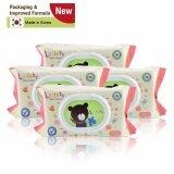 ราคา Lullaby Baby Wipes ทิชชู่เปียกลัลลาบาย แพคเกจจิ้งใหม่ จำนวน80แผ่น โปรโมชั่น ซื้อ 2 แพ็ค ฟรี 2 แพ็ค ราคา 299บาท Lullaby