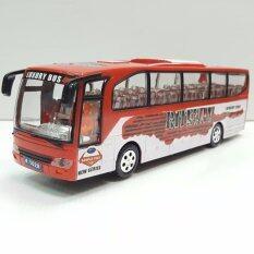 Luxury Bus รถบัส รถเมล์ มีไฟ มีเสียงเพลง วิ่งเลี้ยวได้เอง ของเล่น.