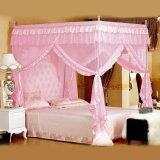 ทบทวน ที่สุด Luxury Four Corner Post Bed Curtain Mosquito Net Pink 1 2X2M Intl