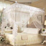โปรโมชั่น Luxury Four Corner Post Bed Curtain Mosquito Net White 1 5X2M Intl Unbranded Generic