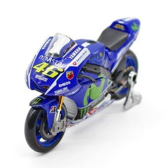 Maisto 1:18 YZR-M1 #46 Rossi Moto GP 2015 Ver. Die-casts Metal bike Collection Models - intl