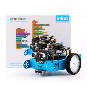 ชุดอุปกรณ์สร้างหุ่นยนต์ MakeBlock mBot v1.1 – สีฟ้า (รุ่นบลูทูธ)