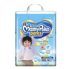 ขาย Mamy Poko กางเกงผ้าอ้อม รุ่น Extra Dry Skin ไซส์ Xxxl 14 ชิ้น สำหรับเด็กชาย Mamy Poko เป็นต้นฉบับ