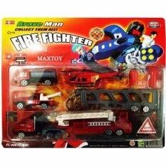 Max Toy ของเล่น รถเด็กเล่น ชุดรถดับเพลิง Fc00613-R.
