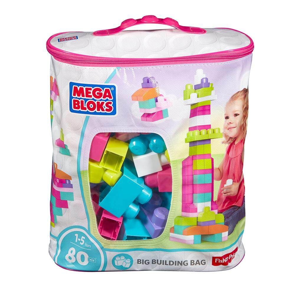MEGA BLOKS® First Builders™ Big Building Bag PINK