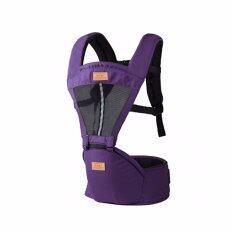 โปรโมชั่น Mengbadun Hip Seat เป้อุ้มเด็กแบบมีอานนั่ง สีม่วง รุ่น Hipseat02 กรุงเทพมหานคร