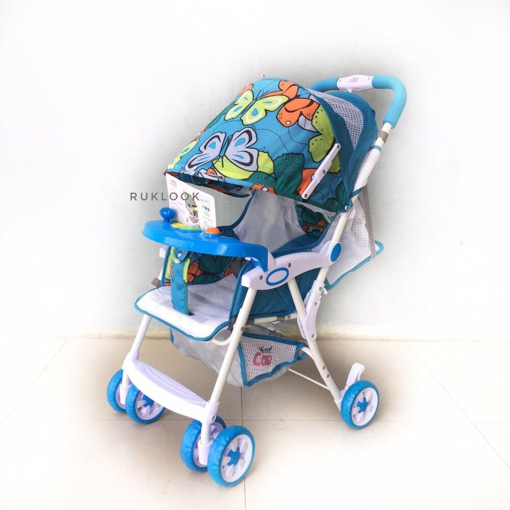 ถูกเหลือเชื่อ Unbranded/Generic รถเข็นเด็กแบบนอน รถเข็นเด็กทารกที่มีน้ำหนักเบา - นานาชาติ แนะนำเลยดีที่สุดแล้ว