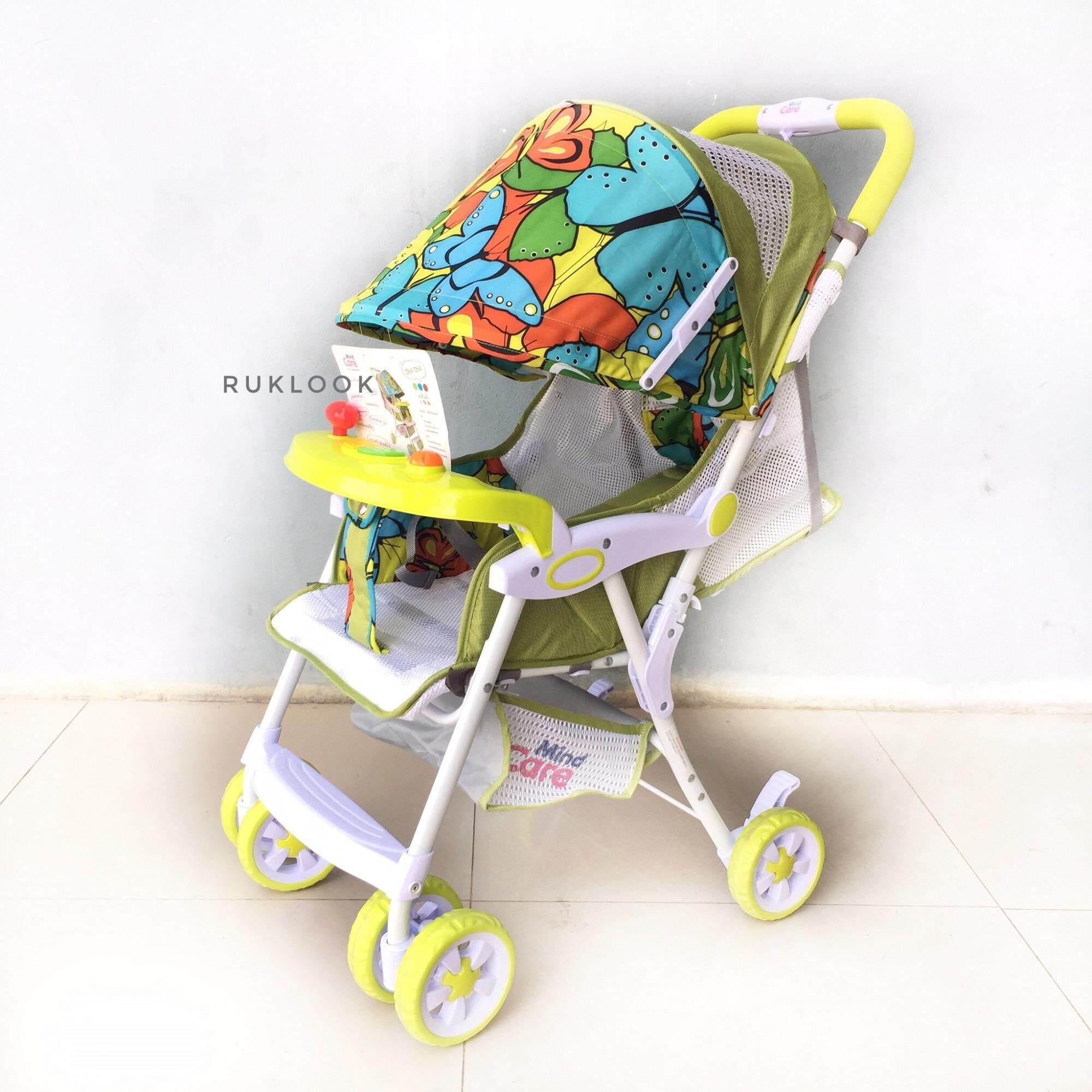 เช็คข้อมูล Unbranded/Generic รถเข็นเด็กแบบนอน รถเข็นเด็กพับได้ LS-602S Baby Stroller คันเล็ก รถเข็นเด็กเล็ก สีเทา ลดล้างสต๊อก