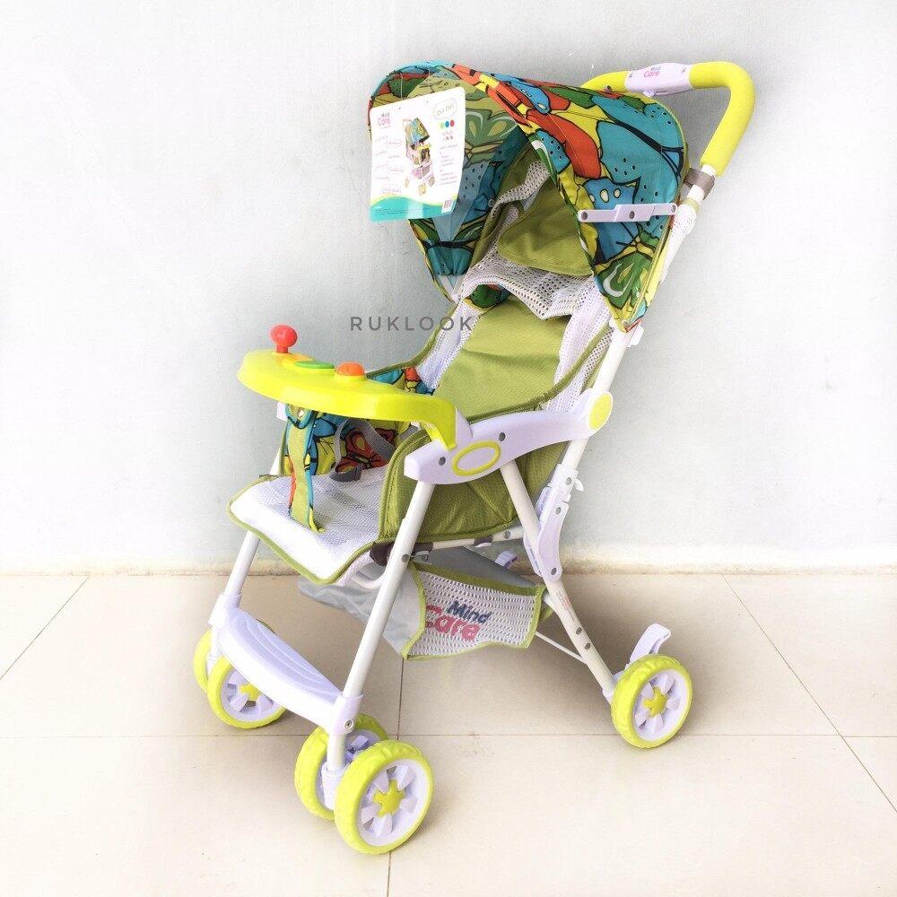 อยากถามคนที่ใช้ Mind Care รถเข็นเด็กแบบนอน รถเข็นเด็ก  Mind Care รุ่น Chill Chill (สีฟ้า) ลดล้างสต๊อก