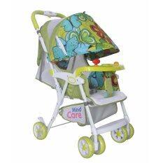 Mindcare  รถเข็นเด็ก รุ่นชิลชิล -  (Green Butterfly)