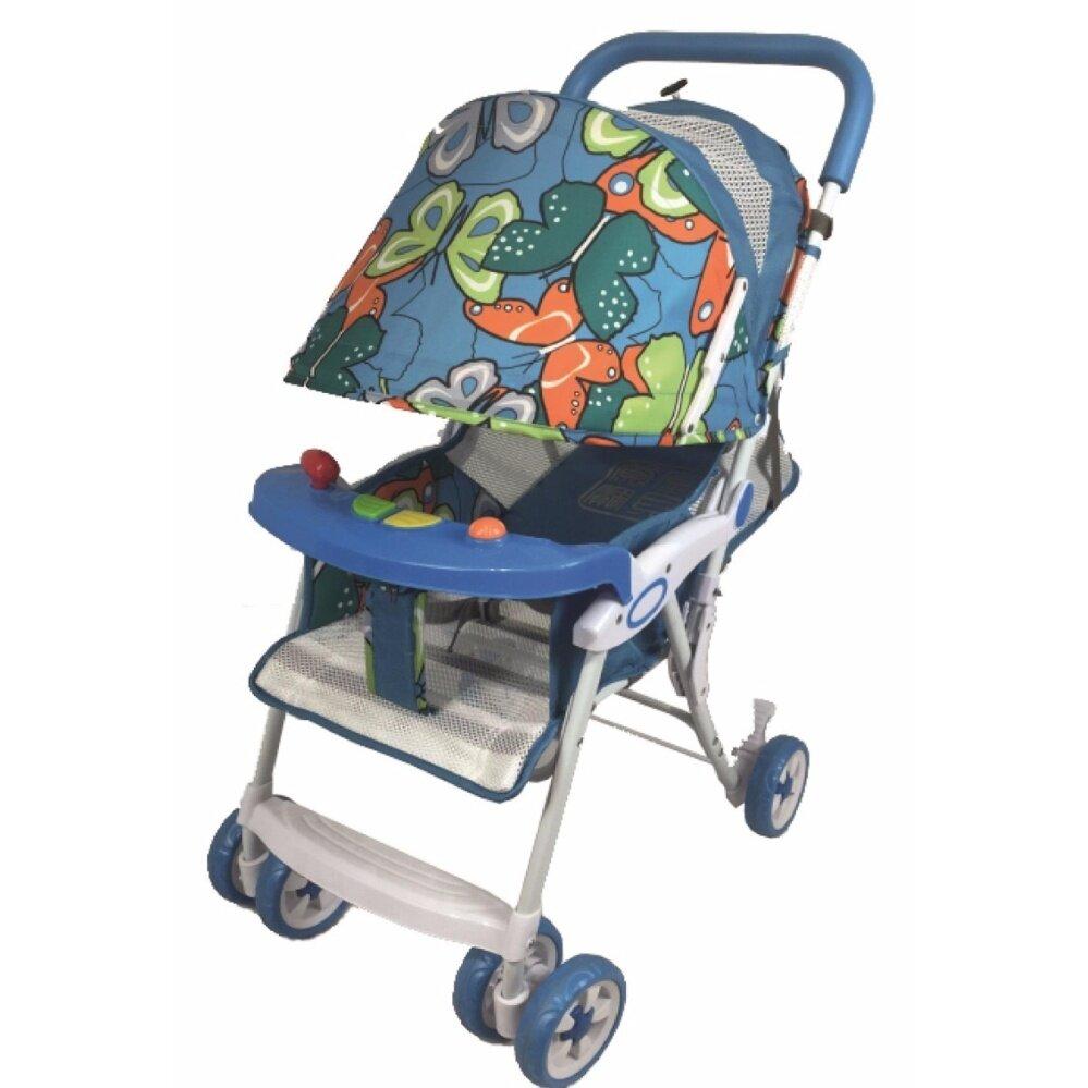 Mindcare รถเข็นเด็ก รุ่นชิลชิล - (Blue Butterfly)