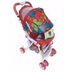 Mindcare  รถเข็นเด็ก รุ่นชิลชิล -  (Red Butterfly)