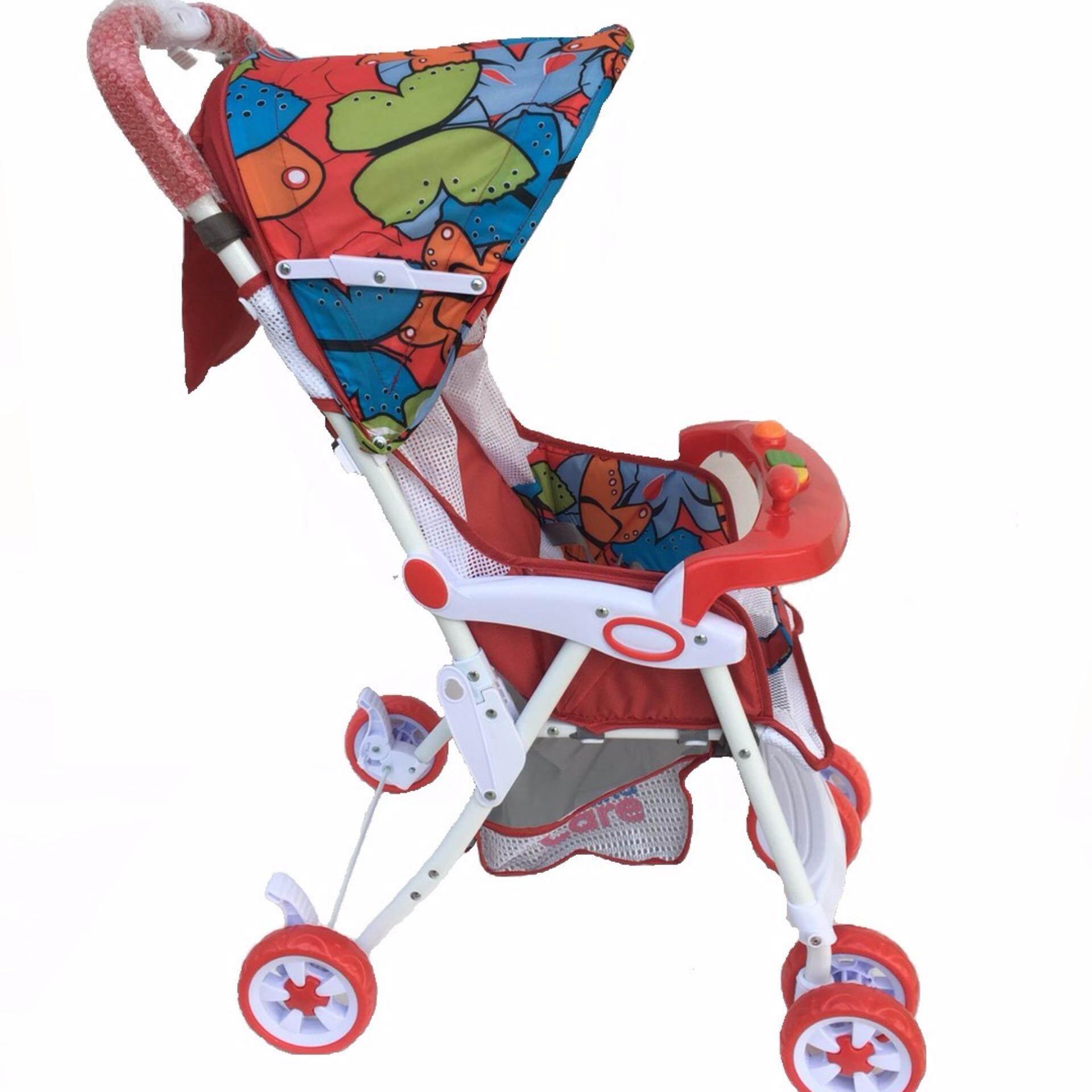 สั่งซื้อ  Mindcare  รถเข็นเด็ก รุ่นชิลชิล -  (Red Butterfly) รุ่นนี้ขายดีที่สุด