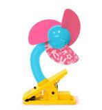 ราคา Mini Laser Clip On Fan พัดลมคลิป เลเซอร์ สีชมพู ใหม่ล่าสุด