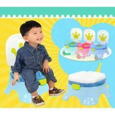 โปรโมชั่น Minlane Kids Blue Potty Toilet กระโถนฝึกเด็กขับถ่าย สีฟ้า สมุทรปราการ