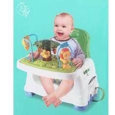 ราคา Minlane Kids Green Chair Health Care Booster Seat เก้าอี้เด็ก เก้าอี้เสริม นั่งทานข้าว เป็นต้นฉบับ