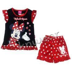 ซื้อ Minnie Mouse เสื้อผ้าเด็กชุดมินนี่เม้าส์ Size S M L A1670 ใน กรุงเทพมหานคร