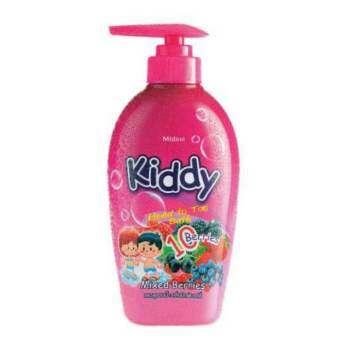Mistine Kiddy Head to Toe Bath Mixed Berries เจลอาบน้ำ+แชมพูสระผม มิกซ์เบอร์รี่ 1 ชิ้น