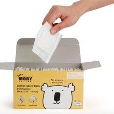 ขาย ซื้อ Moby ผ้าก๊อซสเตอริไรท์ สำหรับทำความสะอาดภายในช่องปากน้อง แบบกล่อง ใน กรุงเทพมหานคร