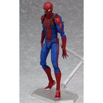 โมเดล สไปเดอร์แมน Model Spider Man มาเวล Mavel อเวนเจอร์ Avengers Figma PVC Action Hero Figure(งาน mirror)