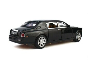 Modeltoy 1:24 Rolls-Royce Phantom Diecast Sound Model Toy Car - intl