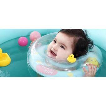 สินค้าขายดี!! Mommylanla ห่วงยางคอ เกรดพรีเมี่ยม เหมาะสำหรับเด็กทารก ได้ฝึกออกกำลังกายทั้งแขนและขา ป้องกันการจมน้ำได้อย่างดี