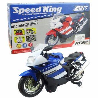 Morning โมเดลรถจักรยานยนต์ของเล่น Speed King No.2023A