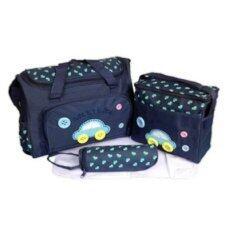 ราคา Mothercare กระเป๋าสัมภาระคุณแม่ เซต 3ใบลายรถ สีกรมท่า ออนไลน์ Thailand