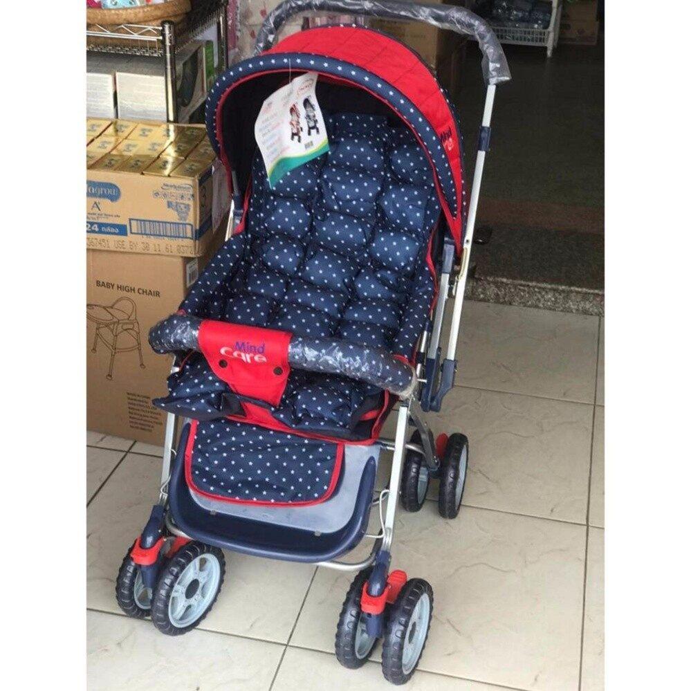มาใหม่ Mind Care รถเข็นเด็กแบบนอน รถเข็นเด็ก  Mind Care รุ่น Chill Chill (สีแดง) ร้านค้าเชื่อถือได้