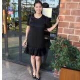 ซื้อ Najin Design เดรสให้นม ชุดให้นม Dressให้นม ทรงสุภาพ รุ่น ซิป2หัวแนวนอน ทรงเอ ชายจับจีบ ผ้านิ่ม ออนไลน์