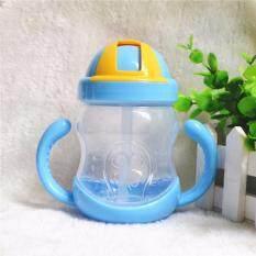 ซื้อ ถ้วยหัดดื่ม Nanababy หลอดดูดมีลิ้นกันสำลัก Bpa Free 6 M สีฟ้า ใน กรุงเทพมหานคร