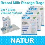 ทบทวน ที่สุด Natur ถุงเก็บน้ำนมแม่ Breast Milk Storage Bags 150Pcs