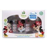 ขาย Natur Disney Baby ขวดเก็บน้ำนม ลายมิกกี้เมาส์และมินนี่เมาส์ 120Ml 3ขวด ถูก ไทย