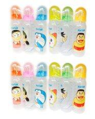 ซื้อ Natur Doraemon ขวดนมโดราเอม่อน Pp ทรงกลม รุ่น40025 ขนาด 8Oz จำนวน 2 แพ็ค บรรจุ 6ขวด แพ็ค ถูก ใน กรุงเทพมหานคร