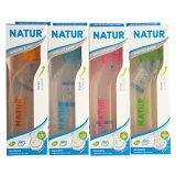 ซื้อ Natur ขวดนมสุขภาพเนเจอร์ Pp 8 ออนซ์ คละสี แพ็ค 4 ใหม่ล่าสุด