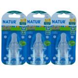ซื้อ Natur Smile จุกนมซิลิโคน เนเจอร์สไมล์ ไซส์ M 3ชิ้น แพ็ค แพ็ค 3 Natur