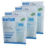 ขาย ซื้อ Natur ถุงเก็บน้ำนมแม่ ผลิตภัณฑ์เนเจอร์ จำนวน 30 ถุง แพ็ค แพ็ค 3 ใน ระยอง