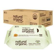 ซื้อ Natural Organic Original Plain Baby Wipes Refill Type 10 X 100Sheet ใหม่