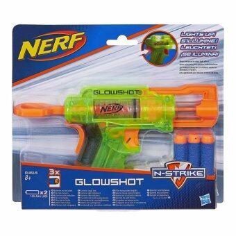 Nerf N-Strike Glowshot Blaster (Green)