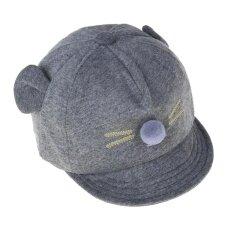หมวกเด็กใหม่การ์ตูนแมวเด็กหมวกเบสบอลเด็กชายหญิงหมวก.