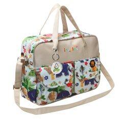 ราคา สร้างรูปแบบของแม่ความจุใหญ่ไหล่กระเป๋าถือกระเป๋าตายเปลี่ยนพร้อมผ้าอ้อมเสื่อ ใหม่