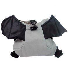 ราคา New Mumbaby กระเป๋าเป้จูงเด็กค้างคาว สีเทา ใหม่ ถูก