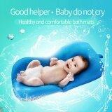ราคา Newborn Baby Toddler Infant Seat Pad Tub Bath Floating Air Cushion Pillow Blue Intl ใหม่
