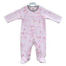 ขาย ซื้อ Newborn C F Sleepsuit Pink Print ใน Thailand