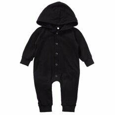 ราคา ทารกแรกเกิดทารกเด็กทารกเด็กผู้หญิงเด็กฝ้ายผ้าพันคอ Romper Jumpsuit บอดี้สูทเสื้อผ้า นานาชาติ ที่สุด